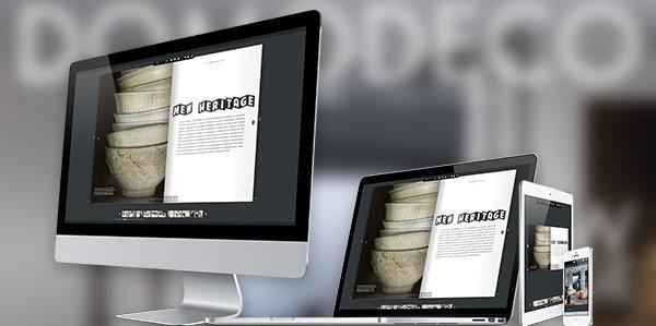 Abonnement magazine DOMODECO - 100 % numérique